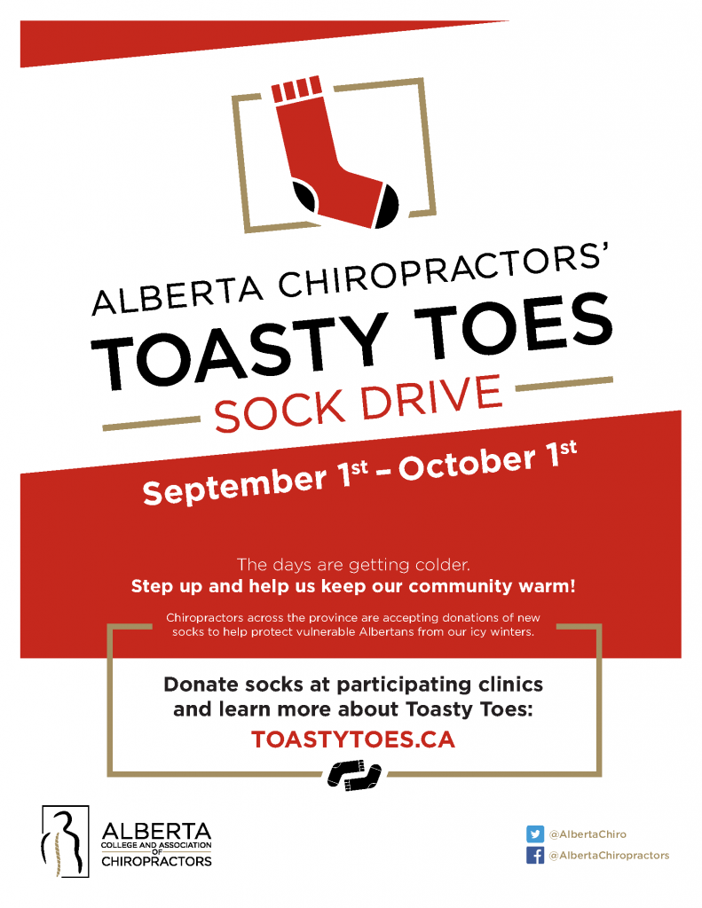 Toast Toes Sock Drive - Whyte Chiro